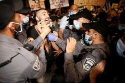 At least 50 people arrested amid anti-Netanyahu protest
