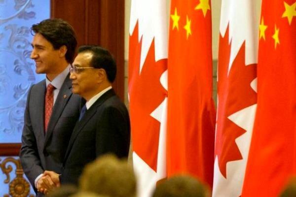 ۶۷ نماینده پارلمان کانادا خواستار تحریم چین شدند