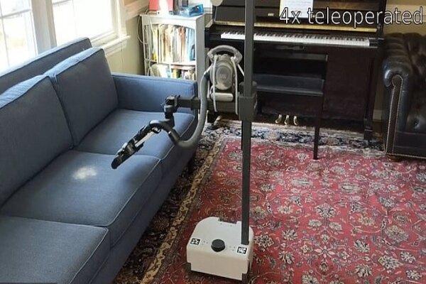 رباتی که خانه داری می کند