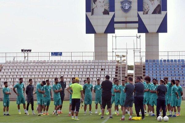 آخرین تمرین سبزپوشان فوتبال تبریز قبل از سفر به اصفهان برگزار شد