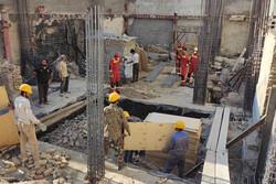 عملیات طولانی برای نجات کارگر محبوس در چاه/فرد محبوس فوت کرد