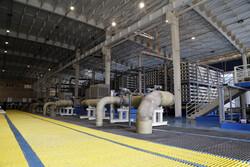 تولید آبشیرین کن سیریک به ظرفیت حداکثری نزدیک می شود