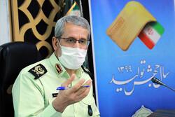 تأمین نظم و امنیت مجالس عزاداری با ۲۱ هزار گشت انتظامی، پیاده و همیاران محرم