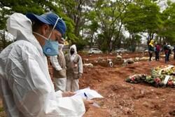 برازیل میں کورونا وائرس سے ہلاک ہونے والے افراد کی  تعداد 5 لاکھ سے زائد