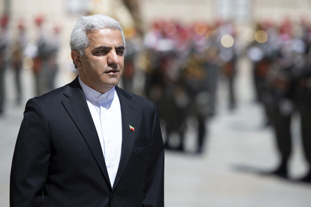 Iranian ambassador holds talks with counterparts in Vienna