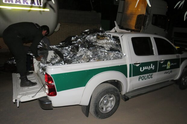 Police bust 1 ton of drugs in Bushehr province