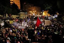 Tel Aviv'de Netanyahu karşıtı gösteriler devam ediyor