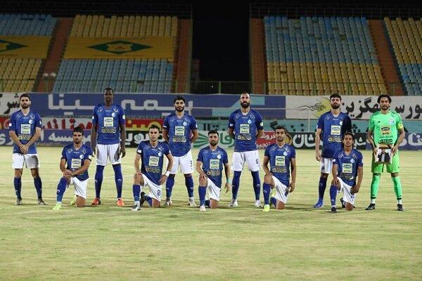 ترکیب تیم فوتبال استقلال مقابل نساجی مشخص شد
