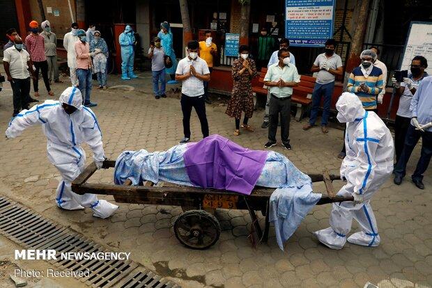 بھارت میں کورونا سے ہلاک افراد کی تعداد ایک لاکھ سے زائد ہوگئی