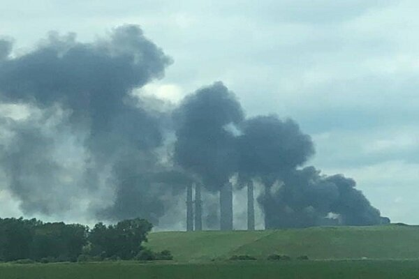 VIDEO: Explosion at 'ArcelorMittal Plant' in NW Indiana