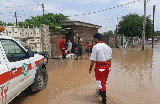 امدادرسانی به ۳۳۵۰ نفر از هموطنان گرفتار در حوادث جوی