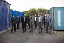 بازدید مدیران ارشد بانک تجارت از واحد نگهداری و تعمیرات ایران کیش