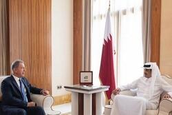 وزیر دفاع ترکیه با امیر قطر دیدار و گفتگو کرد