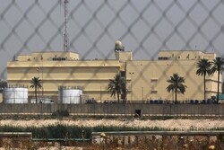 Rockets hit US embassy in Baghdad: report