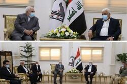 ظريف ورئيس الحشد الشعبي لمناقشة خروج القوات الاميركية من العراق