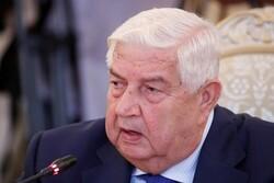 ولید المعلم وزیر خارجه سوریه درگذشت