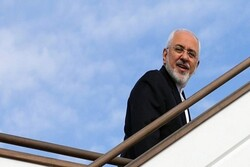 FM Zarif leaves Baghdad for Iraq's KRG