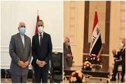 ظريف: محادثات بناءة جرت مع رئيس الوزراء ورئيس الجمهورية العراقية