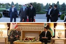 Zarif meets with KGR head in Erbil