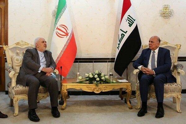 ظريف: علاقاتنا مع العراق لن تتزعزع وهناك اتفاقيات كثيرة سيتم تفعيلها