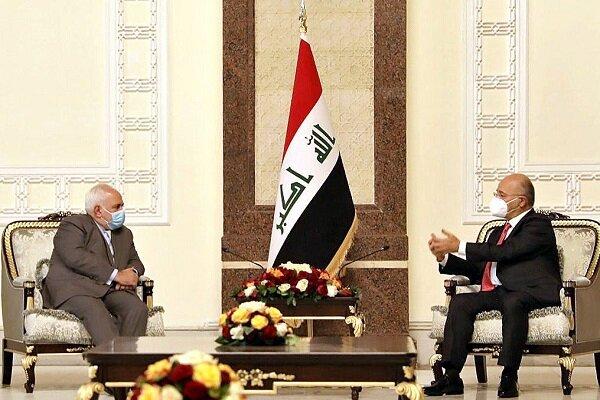 Dışişleri Bakanı Zarif'in Bağdat temasları devam ediyor