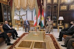 Zarif wraps up on-day visit to Iraq after meetings in Erbil