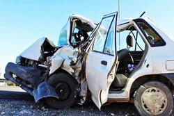تصادف در جاده ورامین/ راننده جان باخت