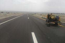 ۱۲ کیلومتر از فاز اول راه اصلی قزوین به تنکابن آسفالت می شود