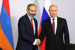 پوتین و پاشینیان درباره اجرای توافقات صلح در قرهباغ رایزنی کردند