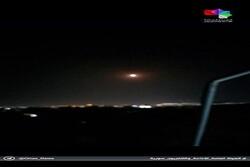 دفاعاتنا الجوية تتصدى لأهداف معادية في سماء دمشق