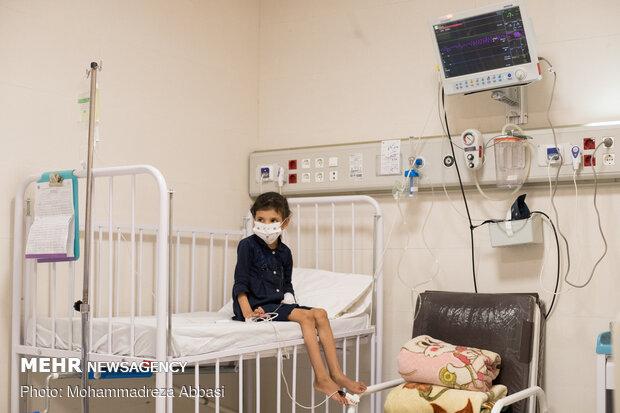 کودکان مبتلا به کووید 19 در بیمارستان مفید