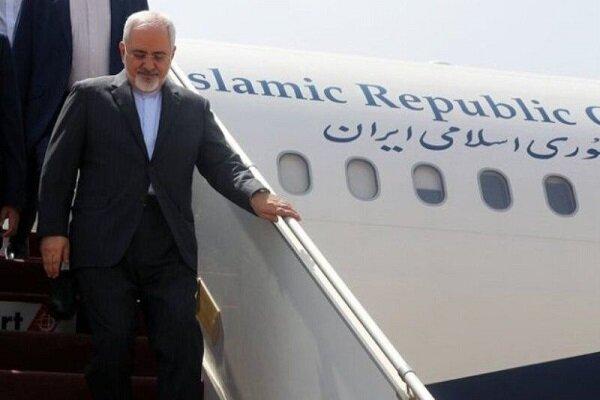 ظريف يغادر بغداد عائداً الى طهران