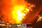 آتشسوزی مهیب مجتمع کشاورزی در «نیوجرسی»