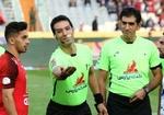 قضاوت داور قمی در لیگ برتر فوتبال