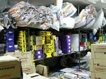 کشف ۳۰ هزار قطعه لوازم یدکی احتکار شده از یک منزل مسکونی