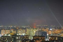 پدافند سوریه با اهداف متخاصم در آسمان حومه دمشق مقابله کرد