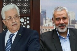 یک مراسم ملی در غزه با حضور «هنیه» و «عباس» برگزار می شود