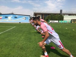 Iran U16 football preparing for Asian c'ship