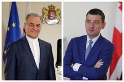 Iran, Georgia discuss bilateral ties