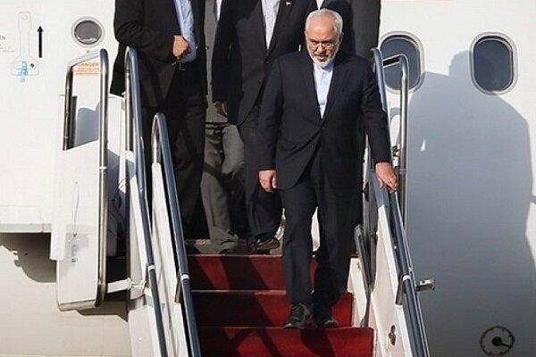 ایرانی وزير خارجہ ماسکو پہنچ گئے