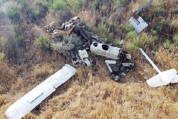 تحطم طائرة مسيرة مجهولة المصدر شمال إيران