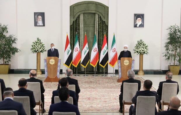 Iran-Iraq economic ties on right track: Rouhani