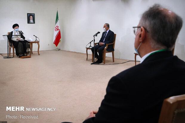 Irak Başbakanı el-Kazımi, İslam Devrimi Lideri'yle görüştü