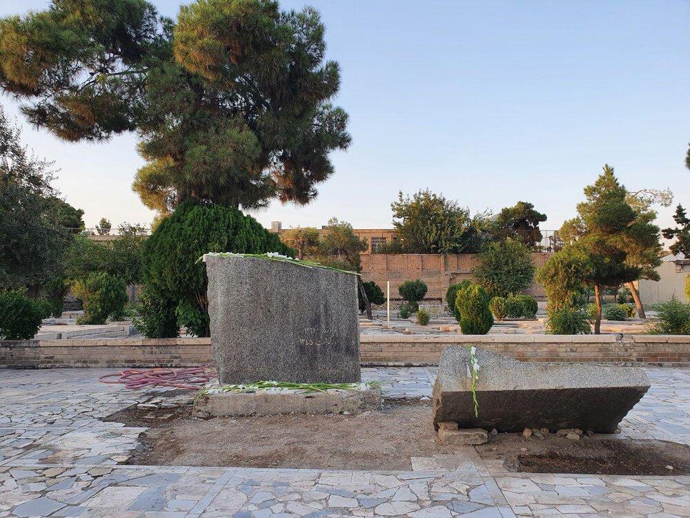 متهم به قبرفروشی غیرقانونی در «ابن بابویه» ری دستگیر شد