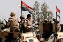 ارتش مصر حمله تروریستی در شبه جزیره سینا را خنثی کرد