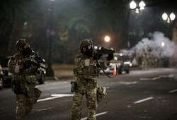 پلیس آمریکا در «پورتلند» وضعیت شورش اعلام کرد