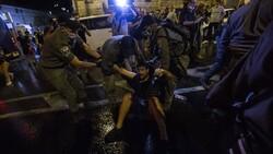 سرکوب تظاهرات علیه فساد نتانیاهو