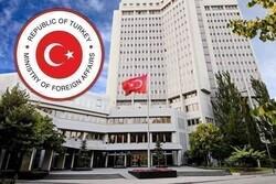 ترکی نے عرب لیگ کے وزرائے خارجہ کے الزامات کو مسترد کردیا