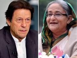 پاکستانی وزیر اعظم  کی بنگلا دیشی ہم منصب کو دورہ پاکستان کی دعوت