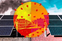 کرونا کارآیی صفحات خورشیدی را افزایش داد !